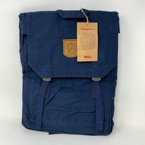 P6 Fjallraven Unisex Foldsack NO.1  Backpack (NWT)